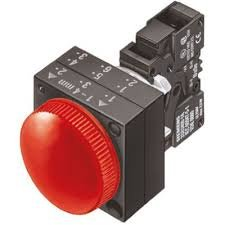 sinaleiro com led    linha plástica 230Vca  VM 3SB32526AA20