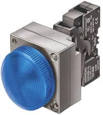 sinaleiro metalico anel concet com LED 24v az 3SB3644-6BA50