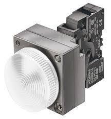 sinaleiro metalico anel concet com LED 24v br 3SB3644-6BA60