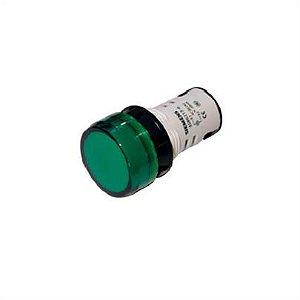 sinaleiro com led  linha plástica 220Vca  VD 3SB6216-6AA40-1AA0