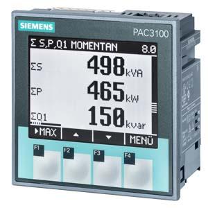 multimedidor de energia siemens pac3100 7KM31330BA003AA0