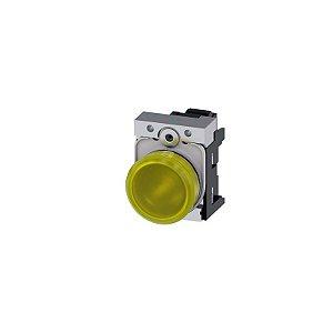 SINALEIRO MET 110V MOLA 22MM AM   3SU1153-6AA30-3AA0