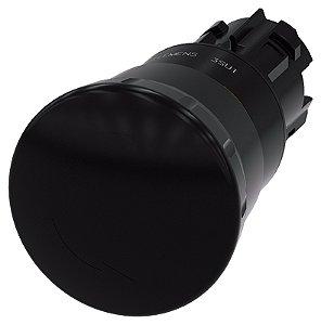 FRONTAL BOTAO COG 40MM PLAS RET POSIT PT   3SU1000-1HB10-0AA0