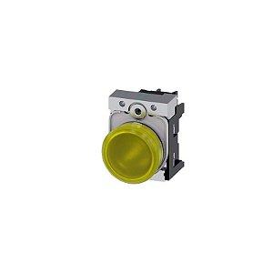 SINALEIRO MET 110V PARA 22MM AM   3SU1153-6AA30-1AA0