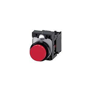 BOTAO PLAS COMPL MOM SAL 1NF 22MM VM   3SU1100-0BB20-1CA0