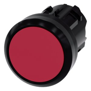 FRONTAL BOTAO PLAS RET 22MM VM   3SU1000-0AA20-0AA0