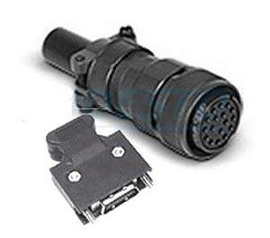Conector do cabo de encoder - Modelos AB, A+ e A2 DELTA ASD-CAEN1000