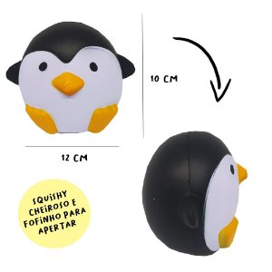 Squishy pinguim prande