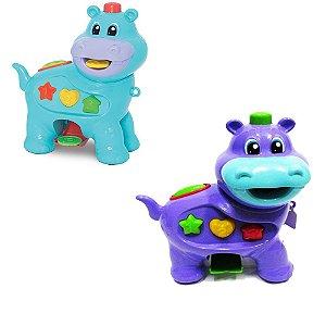 Brinquedo Amiguinho Comilão Hipopótamo
