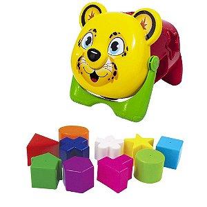 Brinquedo Onça Baby didático