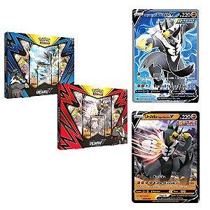 Box de cartas Pokemon Coleção Urshifu V Golpe