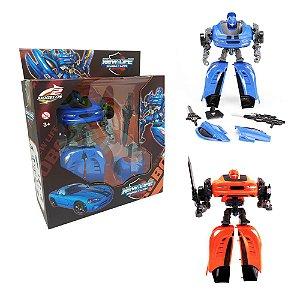 Brinquedo Carro Robô transformers New Life