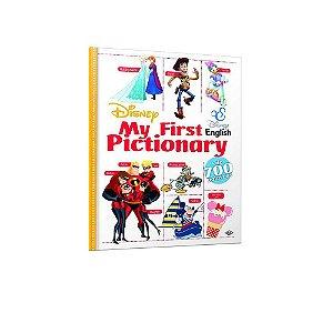 Livro My First Pictionary Disney