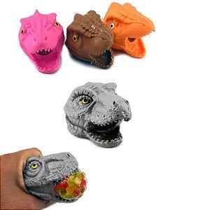 Cabeça Dinossauro de apertar anti stress