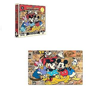 Quebra cabeça Edição Especial Disney Mickey 500 pçs- Toyster