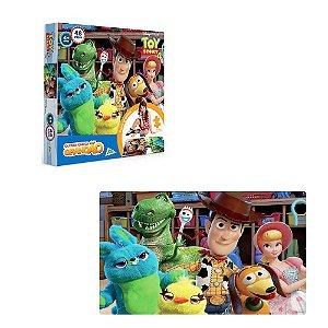 Quebra cabeça grandão infantil Toy Story com 48 pçs- Toyster