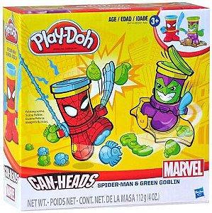 Play Doh Homem Aranha e Duende Verde