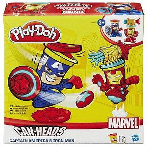 Play Doh Capitão América e Homem de Ferro