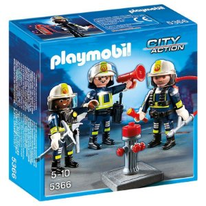 PLAYMOBIL CITY ACTION - BOMBEIROS - 5366