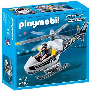 PLAYMOBIL CITY ACTION - HELICOPITERO DA POLICIA - 5916