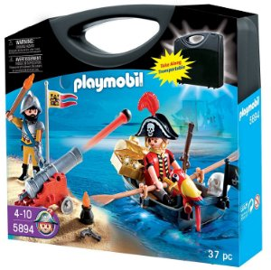 PLAYMOBIL - PIRATAS - CORRIDA DO OURO 5894