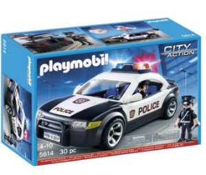 PLAYMOBIL CITY ACTION - POLICE CAR 5614