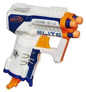 Nerf Elite Strike Triad Ex-3 Lançador de Dardos Pistola Hasbro