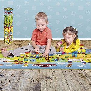 Play Doh Tapete de Atividades Divertido 90x120