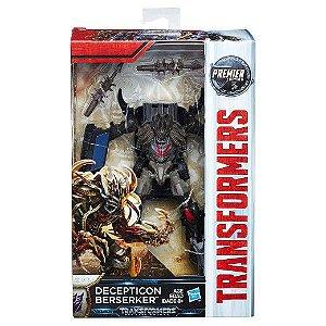 Transformers o ultimo cavaleiro - Premier editon deluxes class - decepticon Berserker