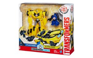 TRANSFORMERS ROBOTS IN DISGUISE - COMBINERFORCE – STUNTWING E BUMBLEBEE