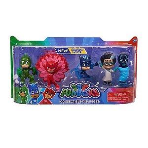 Brinquedos Pj Masks - Jogo com 5 Personagens
