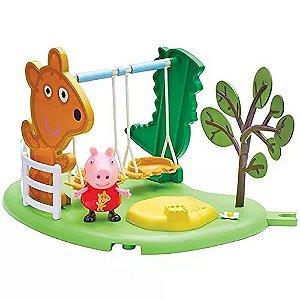 Peppa Pig Hora de Brincar com Balanço