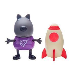 Peppa Pig Danny o Cachorro com Foguete