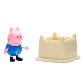 Peppa Pig George com Castelo de Areia