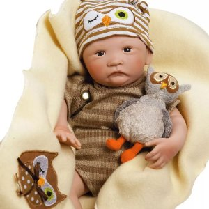 Bebê Reborn Boneco Recém Nascido Tipo Bebe de Verdade Hoot