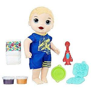 Baby Alive Super Snack - Meu Primeiro Filho Loiro