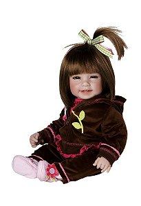 Bebê Reborn Boneca Menina tipo Bebê de Verdade Adora Doll Workout Chic