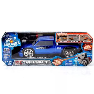 BATTLE MACHINES BLUE CHEVY SILVERADO DOODLEY 3611