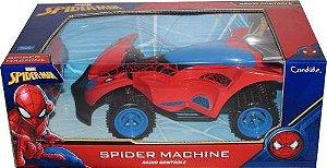 SPIDERMAN MACHINE CONTROLE REMOTO COM 3 FUNÇÕES 5812