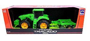 TRATOR TRAÇADO - ARADO - VERDE 0372