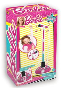 BARBIE MICROFONE FABULOSO MUSICAL