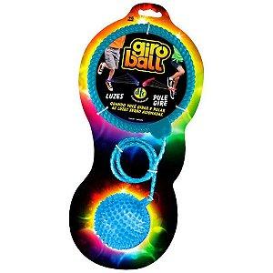 Giroball Bambolê De Perna Com Luzes Azul Pule E Brinque 3805 Dtc