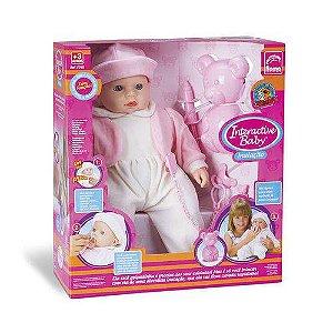 BONECA INTERACATIVE BABY INALAÇÃO - ROMA