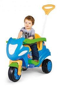 Triciclo de Passeio Max Azul - Calesita Brinquedos