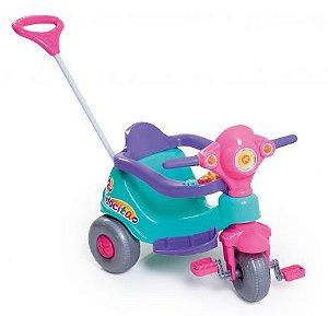 Triciclo Velocita Rosa - Calesita Brinquedos