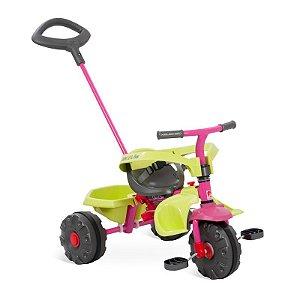 Triciclo Smart Plus Rosa - Bandeirante Brinquedos