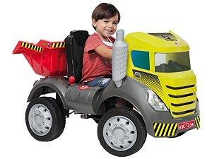 Caminhão Brutus Com Caçamba - Bandeirante Brinquedos