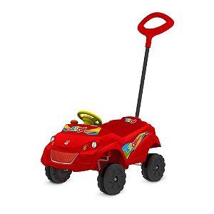 Kidcar Passeio Vermelho - Bandeirante Brinquedos