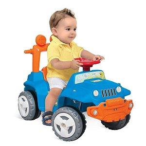 Banjipe Passeio Andador Azul - Bandeirante Brinquedos