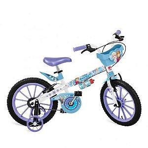 Bicicleta 16″ Frozen Disney Com Cestinha - Bandeirante Brinquedos